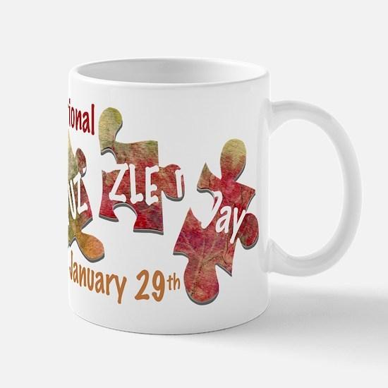 Puzzle Day Mug