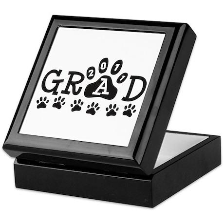 Grad 2011 Paws Keepsake Box