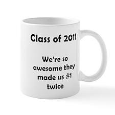 2011 Number 1 Twice! Mug