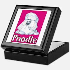Pink Pop Poodle Keepsake Box