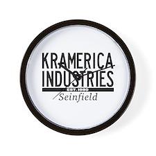 Kramerica Industries Wall Clock