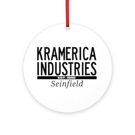 Kramerica Industries Ornament (Round)