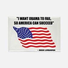 Funny Stop obama Rectangle Magnet