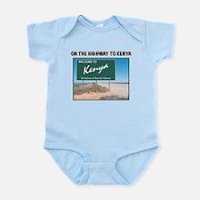 Cute Obama birth certificate Infant Bodysuit