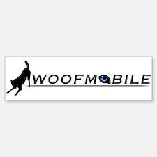 Woofmobile Bumper Bumper Bumper Sticker