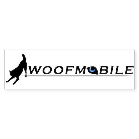 Woofmobile Bumper Sticker