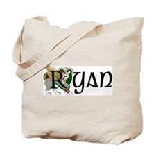 Ryan Celtic Dragon Tote Bag