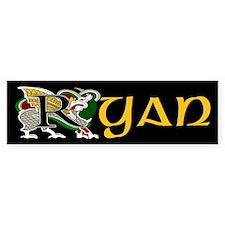 Ryan Celtic Dragon Bumper Bumper Sticker