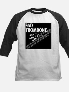 Sad Trombone Kids Baseball Jersey