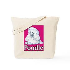 Pink Pop Poodle Tote Bag