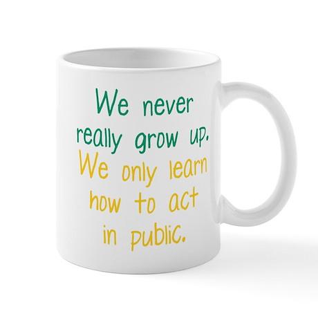 Growing Up Mug