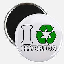 I Heart Hybrids Magnet