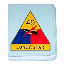 Lone Star baby blanket