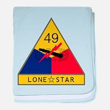 Lone Star baby blanket