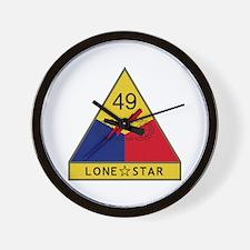 Lone Star Wall Clock