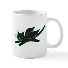 Black Angel Kitty Mug