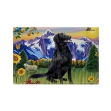 FCR in Mountain Country Rectangle Magnet