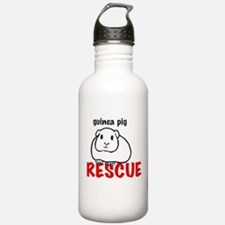 guinea pig rescue Water Bottle