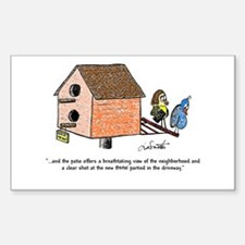 Flipping The Birdhouse Decal