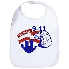 9-11 American Eagle Bib