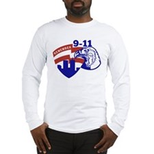 9-11 American Eagle Long Sleeve T-Shirt