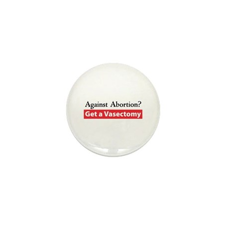 Get a Vasectomy Mini Button (10 pack)