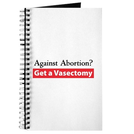 Get a Vasectomy Journal