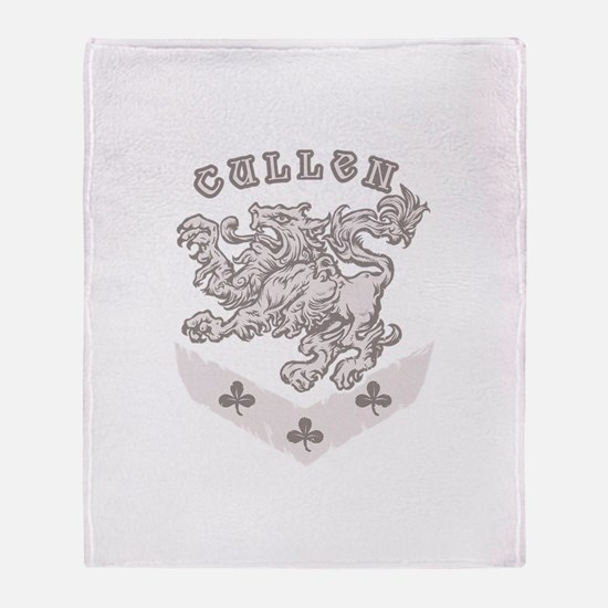 Cullen Crest Throw Blanket