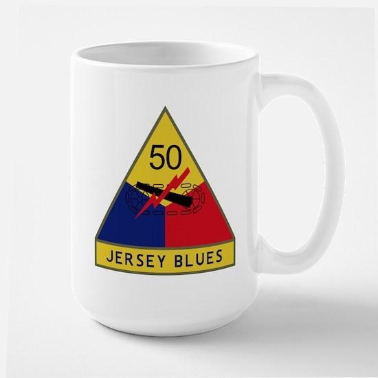 Jersey Blues Large Mug