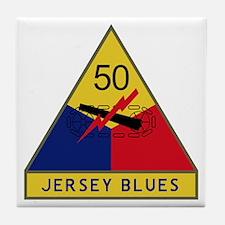 Jersey Blues Tile Coaster