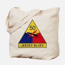 Jersey Blues Tote Bag