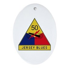 Jersey Blues Ornament (Oval)