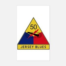 Jersey Blues Sticker (Rectangle)