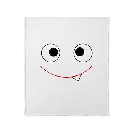 Tummy Monster Throw Blanket