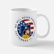 9-11 fireman firefighter Mug
