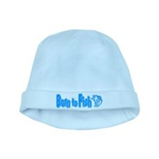 Born to Fish baby hat