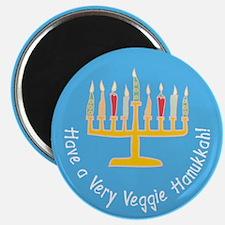 "Veggie Hanukkah 2.25"" Magnet (10 pack)"
