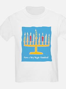 Veggie Hanukkah Kids T-Shirt