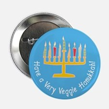 "Veggie Hanukkah 2.25"" Button (10 pack)"
