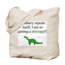 If History Repeats Tote Bag