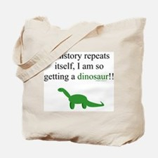 If History Repeats Tote Bag