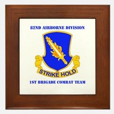 DUI - 1st BCT with Text Framed Tile