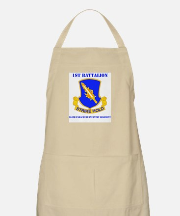 DUI - 1st Bn - 504th PIR with Text Apron