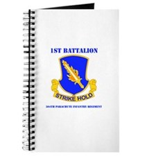 DUI - 1st Bn - 504th PIR with Text Journal