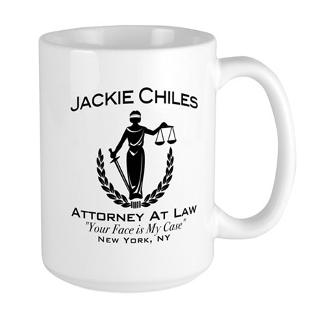 Jackie Chiles Attorney Seinfield Large Mug