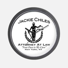 Jackie Chiles Attorney Seinfield Wall Clock