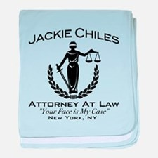 Jackie Chiles Attorney Seinfield baby blanket