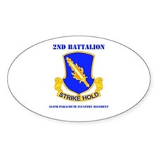 DUI - 2nd Bn - 504th PIR with Text Decal