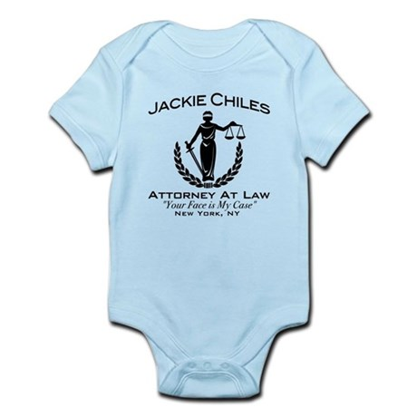 Jackie Chiles Attorney Seinfield Infant Bodysuit
