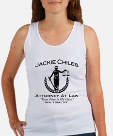 Jackie Chiles Attorney Seinfield Women's Tank Top